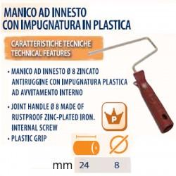 MANICO RULLO 24 cm