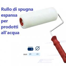 RULLO SPUGNA  20 cm CON MANICO
