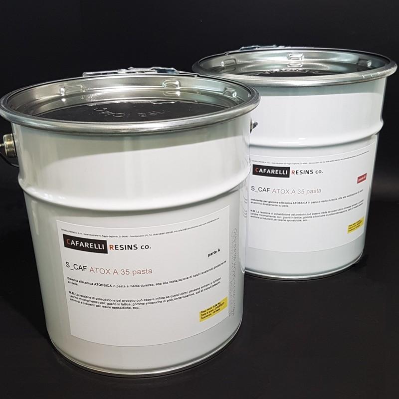 Gomma siliconica atossica in pasta per stampi direttamente for Gomme siliconiche per calchi